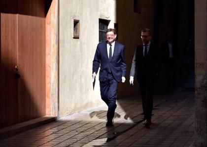 El pleno de toma de posesión de Ximo Puig tendrá lugar el domingo a las 12 horas