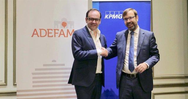 Economía.- KPMG y Adefan colaborarán para apoyar actividades académicas y de investigación en empresas familiares