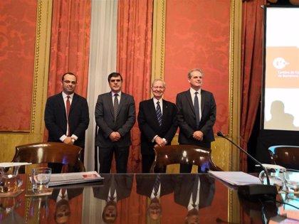 Valls pide a Canadell que la Cámara de Barcelona continúe siendo referente y defienda el interés general