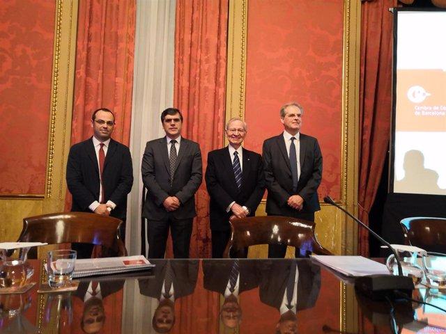 Av.- Valls demana a Canadell que la Càmera de Barcelona continuï sent referent i defensi l'interès general