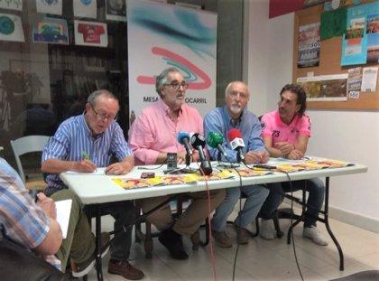 """La Mesa del Tren de Almería convoca una concentración el 27 de junio contra el """"abandono ferroviario"""""""