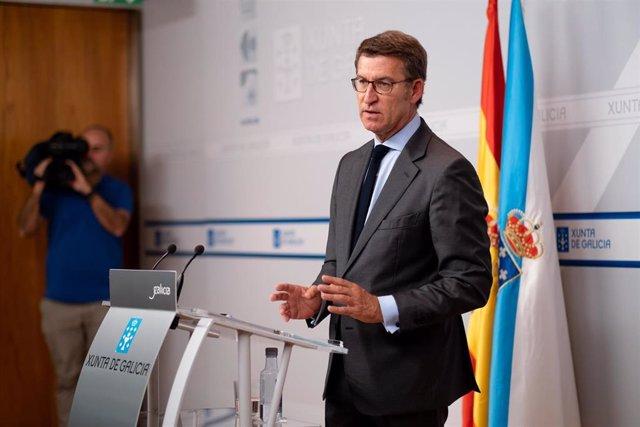 """Feijóo remite las negociaciones con DO en Ourense a lo que decida la dirección del PP de """"cada ciudad o provincia"""""""