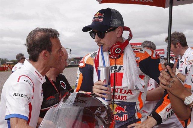 """Motociclismo/GP L.Américas.- Jorge Lorenzo: """"Estamos entendiendo cada vez más la Honda"""""""