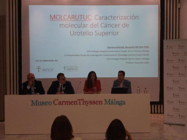 Málaga.- La AECC financia al investigador malagueño Bernardo Herrera