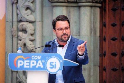 """Antona ve una """"broma"""" que se plantee un Gobierno CC-PP en Canarias sin él y mantiene abiertas todas las vías de pacto"""