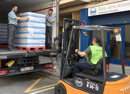 Mercadona dona 13.500 litros de leche el Banco de Alimentos de Tarragona