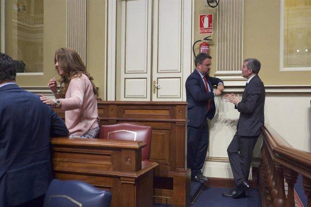 CC ofrece a Antona la Presidencia del Gobierno de Canarias