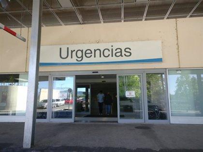 Cuatro heridos tras la colisión de tres turismos en la calle Madre de Dios de Logroño