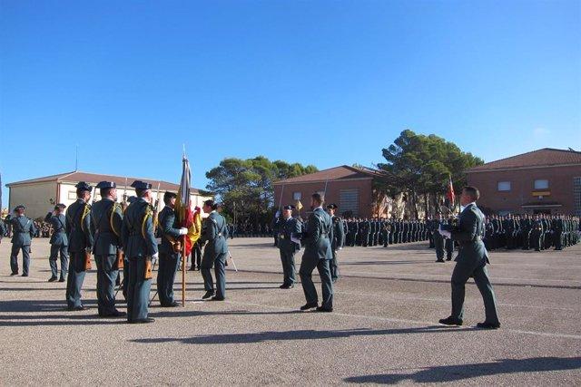 Jaén.- La Academia de Baeza acoge este viernes la entrega de diplomas a más de 2.000 guardias civiles y suboficiales