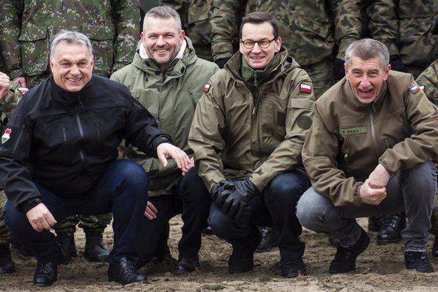 UE.- Los líderes del Grupo de Visegrado se citan el jueves para discutir del reparto de cargos en la UE