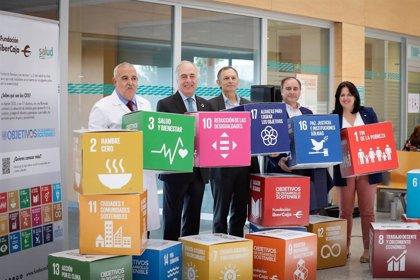 Hospital Miguel Servet, Fundación Ibercaja y ECODES promocionan los Objetivos de Desarrollo Sostenible de la ONU