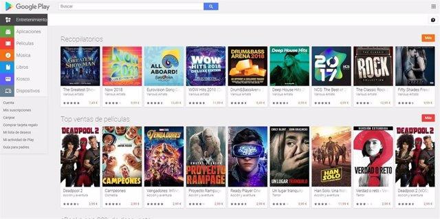 Google Play desarrolla la descarga simultánea de varias aplicaciones