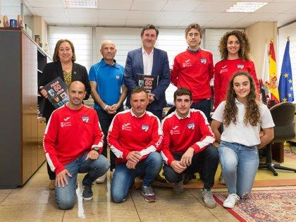 La selección cántabra de apnea indoor femenina, bronce en el Campeonato de España