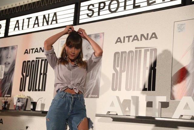 Presentación del disco 'Spoiler' de Aitana en la Sala Equis de Madrid