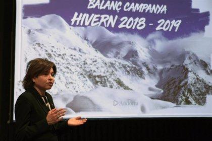 Andorra Turisme atribuye al mal tiempo el descenso del 1,3% de turistas este invierno