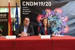 El Centro Nacional de Difusión Musical organizará 300 actividades en 44 ciudades en la temporada 2019/2020