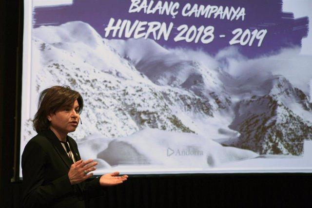 Andorra Turisme atribueix al mal temps el descens de el 1, 3% de turistes aquest hivern