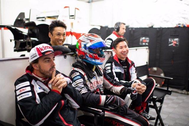 El piloto español Fernando Alonso (Toyota Gazoo Racing).