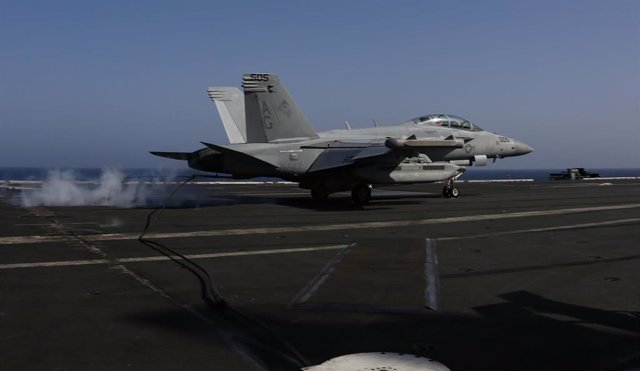 Flight operations on USS Lincoln