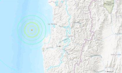 Registrado un terremoto de magnitud 6,4 en el norte de Chile