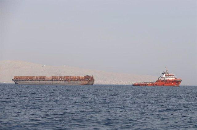 """O.Próximo.- Reino Unido informa sobre un """"incidente"""" en el golfo de Omán"""