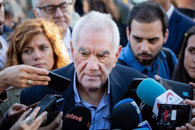 """AMP.- Maragall avisa que els vots de Valls serien la """"ruïna"""" de Colau i encara es veu alcalde"""
