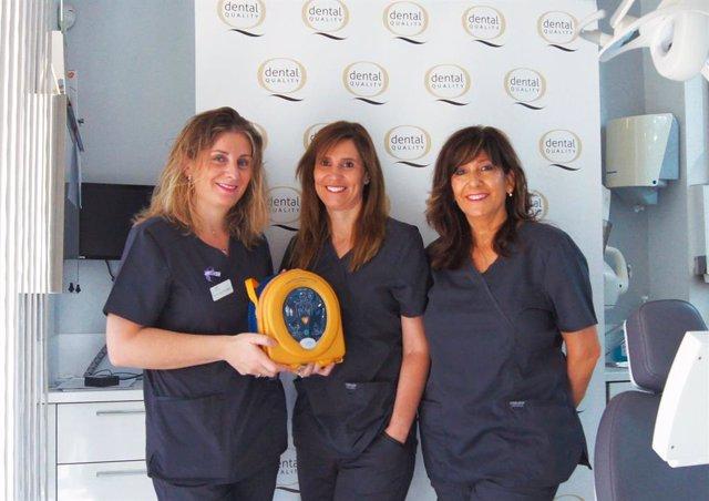 COMUNICADO: DentalQuality* invierte en cardioprotección para sus pacientes