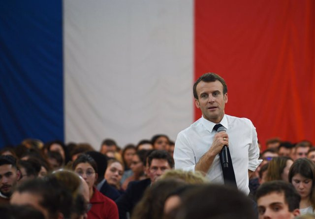 Macron\'s \'Grand Debat\' initiative