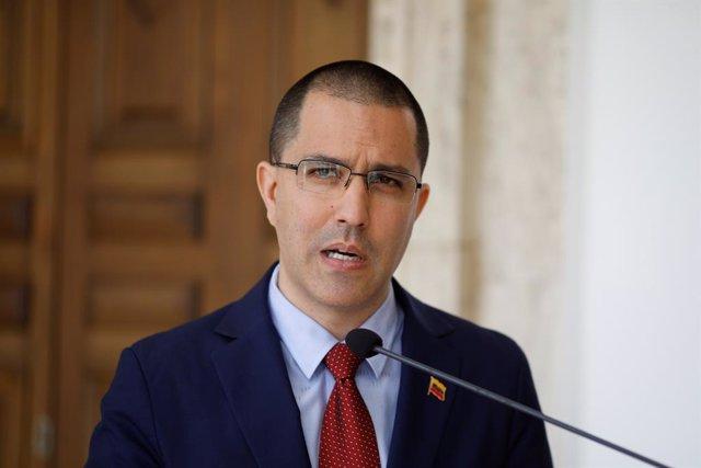 Venezuela.- Venezuela rechaza las sanciones impuestas por EEUU al ministro de Exteriores venezolano, Jorge Arreaza
