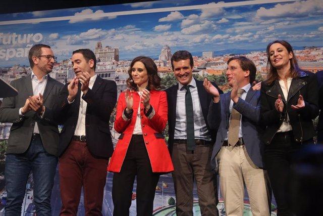 Presentació dels candidats del PP de Madrid a les eleccions locals i autonòmiques de 2019