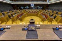 La sesión constitutiva del Parlamento de Navarra se celebrará el próximo miércoles, día 19