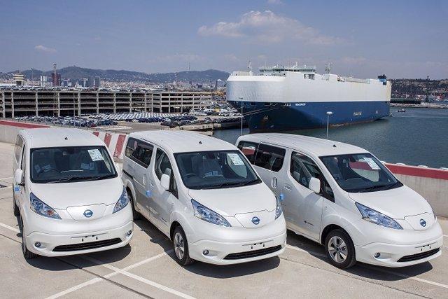 Economía/Motor.- La furgoneta eléctrica Nissan e-NV200, fabricada en España, acumula 10.000 pedidos en Europa