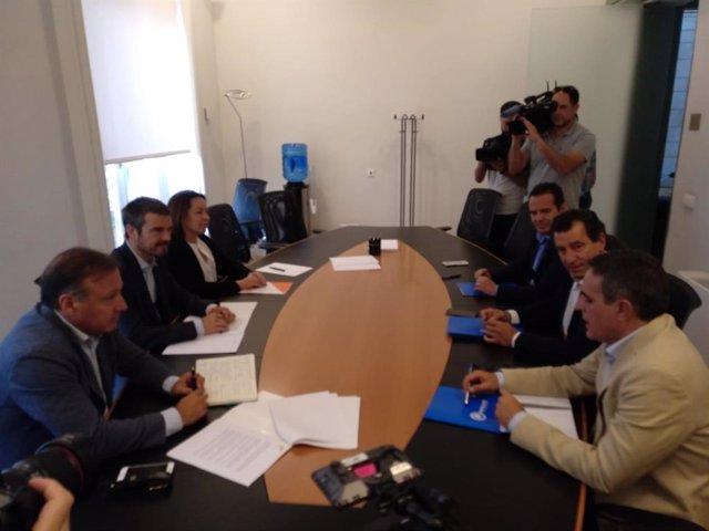 Representantes del PP y Cs se reúnen este miércoles por segunda vez para tratar posibles pactos en Baleares