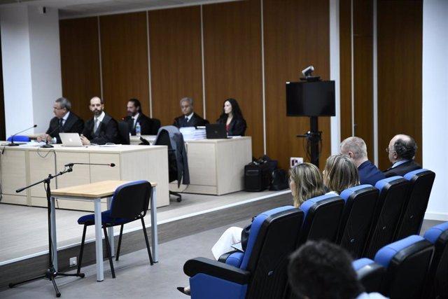 Juicio al PP por la destrucción de los ordenadores de Luis Bárcenas en los Juzgados de lo Penal de Madrid