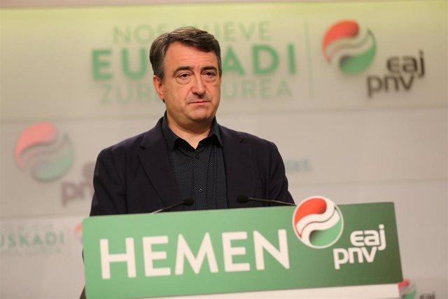 """VIDEO: 28A.- PNV reprocha que se usara a Euskadi en el debate como """"arma arrojadiza"""" y advierte de un pacto PSOE-Cs"""