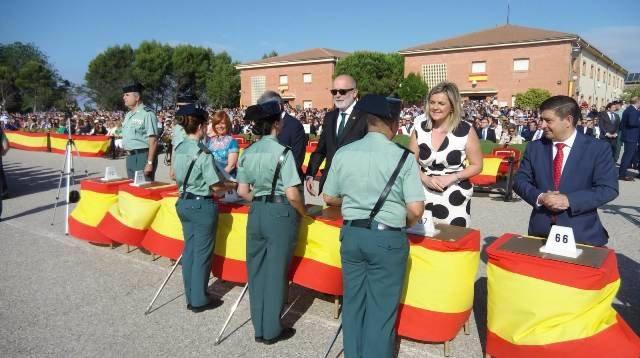 """Azón destaca la íntima unión de la Guardia Civil con el mundo rural y su papel """"esencial"""" para asegurar la convivencia"""