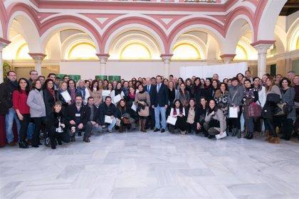 Un total de 94 municipios, un 10% más que el año pasado, participarán en el plan de formación de Diputación de Sevilla