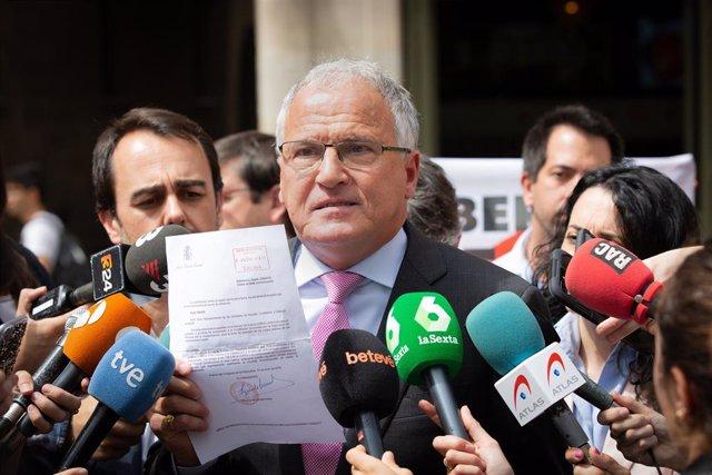 Bou (PP) critica la presència de Forn en el ple del dissabte i no saludarà a Torra després de la investidura