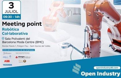 Open Industry 4.0 organiza en Barcelona un Meeting Point dedicado a la robótica colaborativa