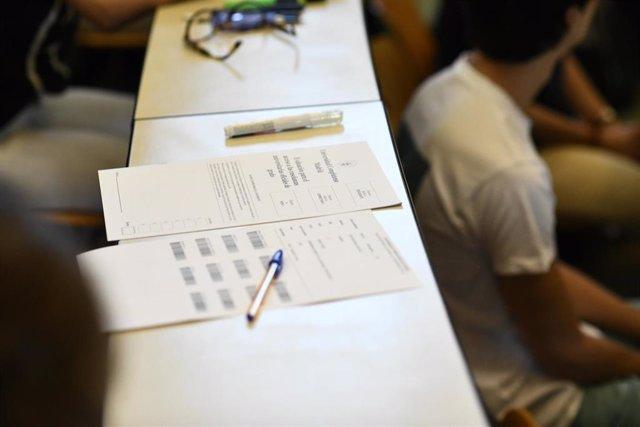 Almería.-Un total de 3.175 estudiantes realizarán sus pruebas de acceso a la universidad desde el próximo martes