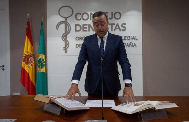 Presidente del Consejo General de Dentistas, Óscar Castro Reino