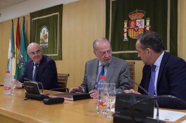 Sevilla.- Supera.- Diputación aprueba modificaciones presupuestarias por 7,8 millones para caminos, obras urgentes y Sup