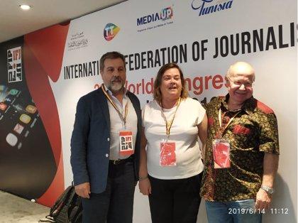 La Federación Internacional de Periodistas insta al futuro Gobierno español a amparar y proteger el secreto profesional