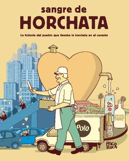 'Sangre de horchata', el homenaje de Fartons Polo y Paco Roca a Alboraia, cuna de la chufa valenciana