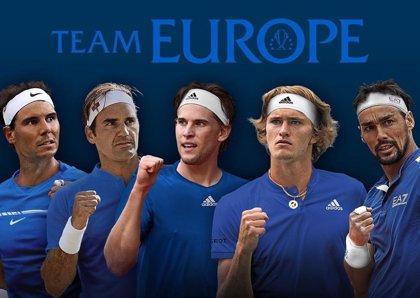 Thiem, Zverev y Fognini se unen a Nadal y Federer en el equipo de Europa de la Laver Cup