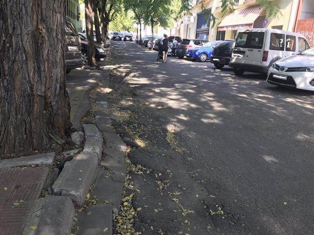 Sevilla.- Supera.- El arreglo del vial de acceso a la plaza del Callejón del Huerto de Alcalá comienza este lunes