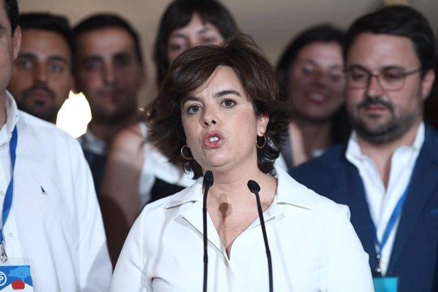 Santamaría, al Congrés Nacional del PP