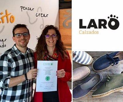 CALZADOS LARO obtiene el sello de norma de calidad empresarial de CEDEC y reafirma su colaboración