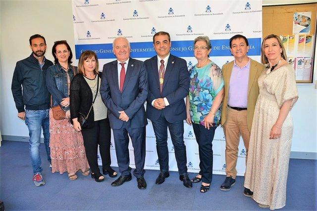 El Consejo General de Enfermería y el Colegio de Guadalajara acuerdan nuevas estrategias para visiblizar a enfermeros
