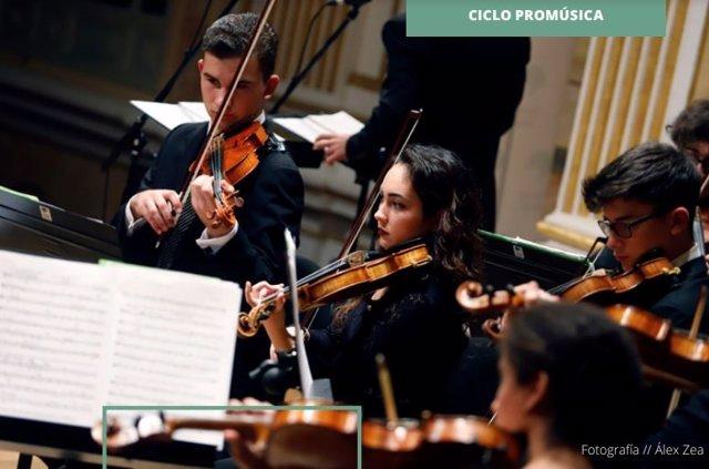 Málaga.- Unicaja.- El Proyecto Orquestal Promúsica ofrece el concierto 'Día Europeo de la Música'